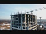 Видеооблёт строительства микрорайона Новая Жизнь , декабрь 2018