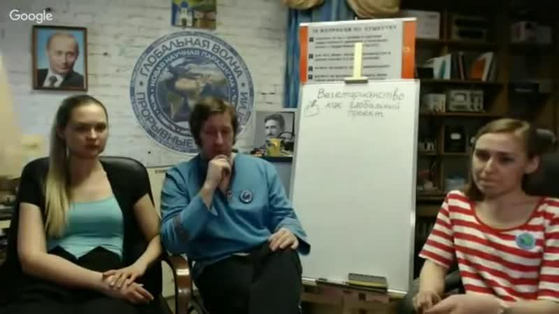 Вегетарианство и другие глобальные проекты. Дмитрий Еньков