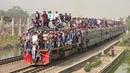 Most Crowded Train in the World- Bangladesh Railway