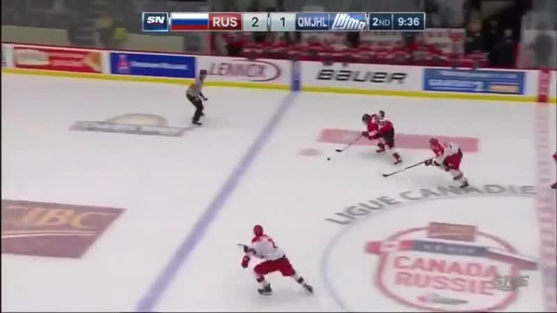 Квебек -- Россия. 2 период