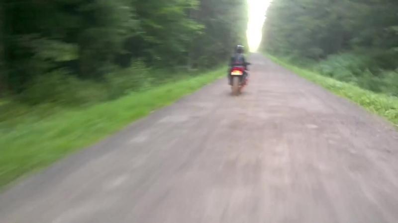 девушка на мотоцикле_⁄ biker girl мототаня