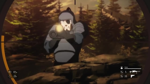 Sword Art Online II - Kirito deflects bullets in GGO