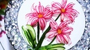 Lovely Red Radish Cherry Blossom - Fruit Vegetable Carving Garnish