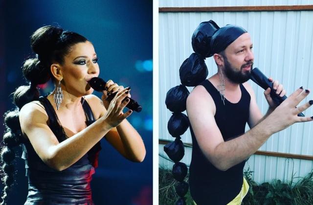 Блогер Юрий Истерика пародирует знаменитостей