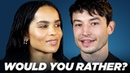 The Cast of Fantastic Beasts The Crimes of Grindelwald Play Would You Rather