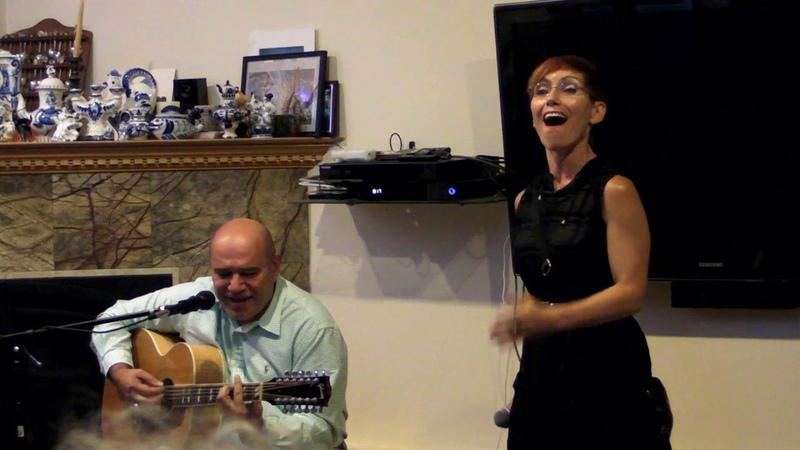 Марина, Игорь, Таисия и Марк Саркисовы - домашний концерт в East Brunswick (USA, NJ, 13.07.2018)