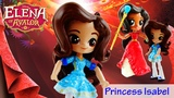 PRINCESS ISABEL - Disney Elena of Avalor Custom Doll from My Little Pony Equestria Girls Mini