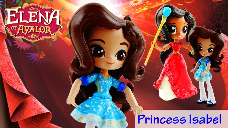 PRINCESS ISABEL - Disney Elena of Avalor Custom Doll from My Little Pony Equestria Girls Mini