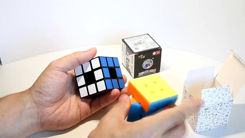 Анбоксинг с Kubomarket Ru - YJ 2x2 House, MoYu 3x3 GuanLong, LanLan 3X3 Void Cube, ShengShou Mirror