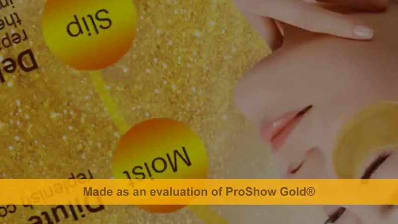 Gold Eye Mask Face Mask Anti Dark Circles Anti-Aging Eye Patches.