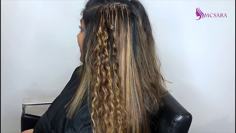 How to use I tip hair extensions from MCSARA