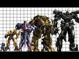 Autobots Size (Movies)