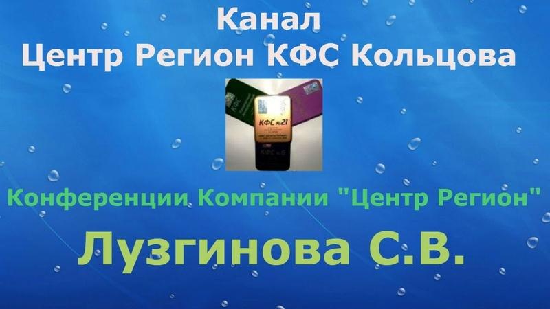 КФС и энергетический уровень органов. Лузгинова С.В.