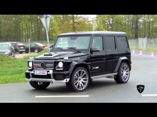 800HP 2013 Mercedes-Benz BRABUS G65 AMG Widestar Acceleration SOUNDS