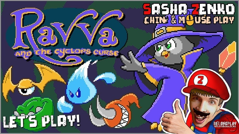 Ravva and the Cyclops Curse Gameplay (Chin Mouse Only)