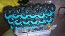 Bolso Tejido a Crochet Con Aros