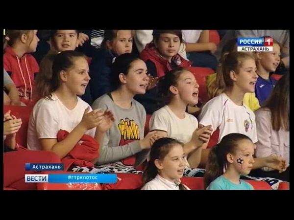 Астраханский клуб Дельта обыграл Красную гвардию из Москвы