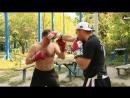 [Борцы Бойцы] Уроки Бокса для начинающих | Как бить удар через руку в боксе - Урок 8