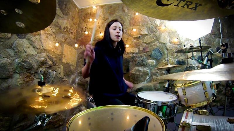 Lindsey Raye Ward - High Hopes - Panic! At The Disco (Drum Cover)