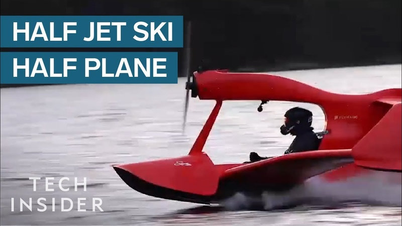 You Dont Need A Pilots License To Fly This Jet Ski Plane