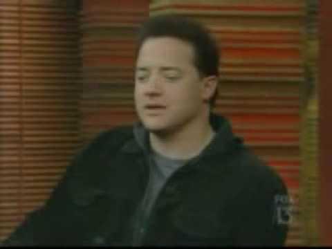 Brendan Fraser on Regis and Kelly