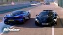 Filming the McLaren 720s vs McLaren P1 | Extra Gear | BBC
