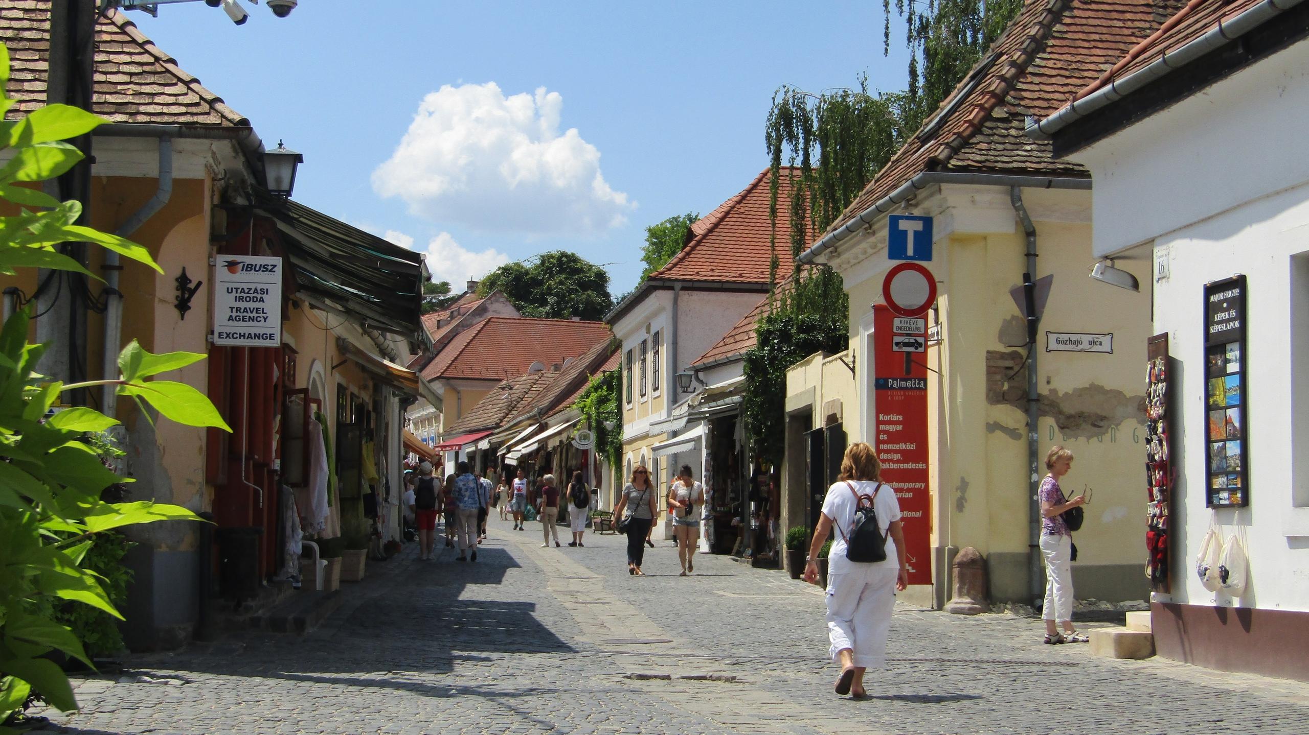 Сентендре. Маленький сербский городок в сердце Венгрии