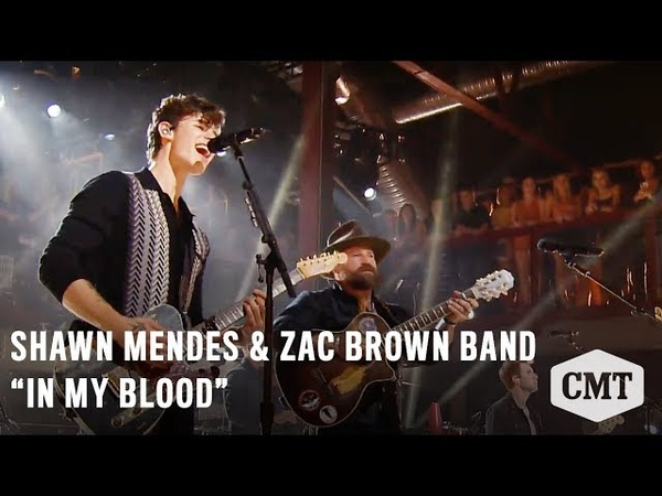 CMT Crossroads: Shawn Mendes Zac Brown Band | In My Blood 19october 2018 year