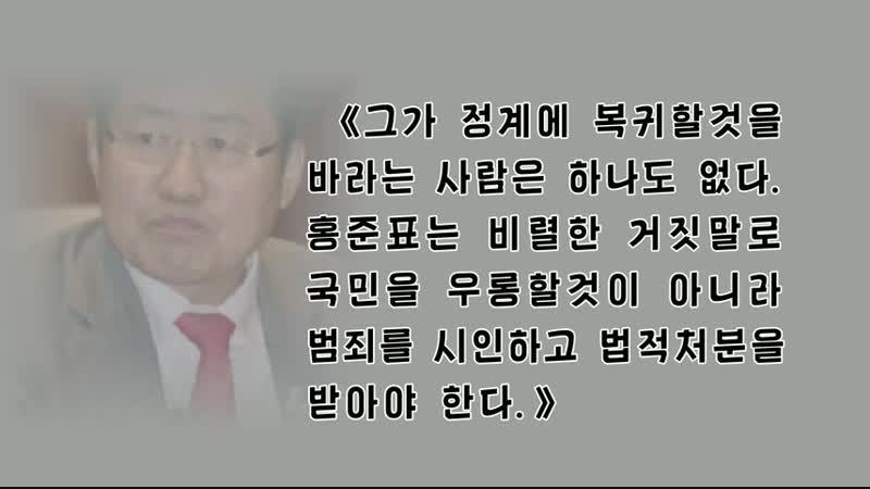 《국민을 우롱할것이 아니라 법적처분을 받아야 한다》-남조선인터네트홈페지에 실린 글- 외 1건