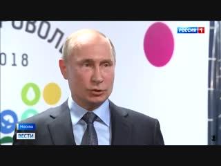 Путин об отказе разговоров с Порошенко
