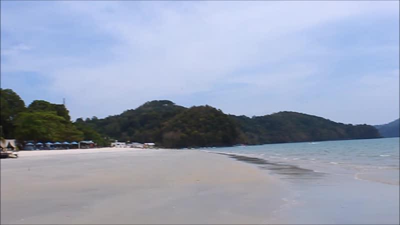 Пляж Пантаи Тенгах Pantai Tengah love