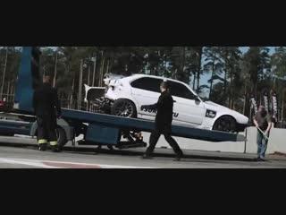 Как укоротить BMW E34 за 5 секунд