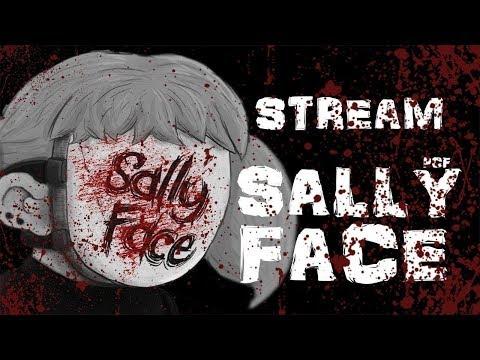 [СТРИМ] БЕЗУМНЫЙ СУД \ Sally Face (Episode 4) \ PixelCakesFan