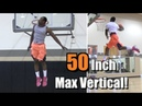 50 Inch Vertical! Daniel Kabeya Full Dunk Sessions w/ Jarrell Tate Jamier Cross!