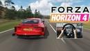 BEST RACING GAME 2019! Audi RS 7 Sportback 2013/ Forza Horizon 4 (STEERING WHEEL GAMEPLAY)