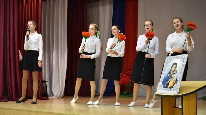 Концерт посвященный Дню матери прошел в Урюпинской епархии.
