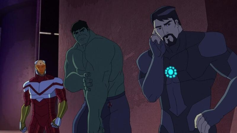Marvels Avengers: Ultron Revolution Vs Hulk