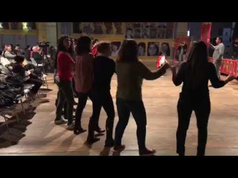 TKP ML TIKKO Lyon'da yapilan devrim sehitleri anma gecesi 3-02 -2018