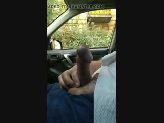 Public dick car flash with cum 54 - she looks
