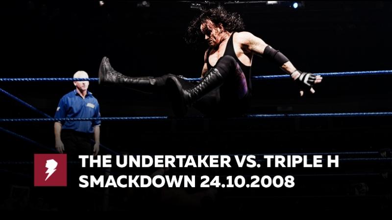 [My1] Смекдаун 24.10.2008 - Трипл Эйч против Гробовщика