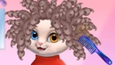 Amy's Animal Hair Salon Kids Games – Play Fun Cutest Cat Hairstyling Makeover Games For Girls