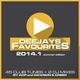 Разные исполнители - Deejays Favourites 2014.1  (Continuous DJ Mix)