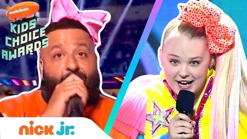 JoJo Siwas Dance Game w DJ Khaled at 2019 Kids Choice Awards | Nick Jr.