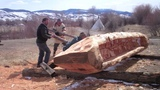 Dugout Canoe Carving The Story of Belladonna Beaver