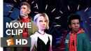 Spider Man Into the Spider Verse Exclusive Movie Clip Other Spider People 2018 Movieclips