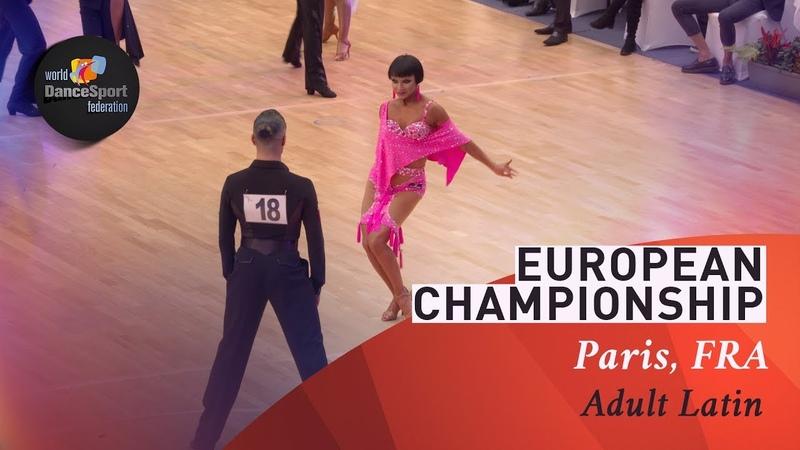 Marcos - Nowak, POL | 2019 European LAT Paris | R1 C