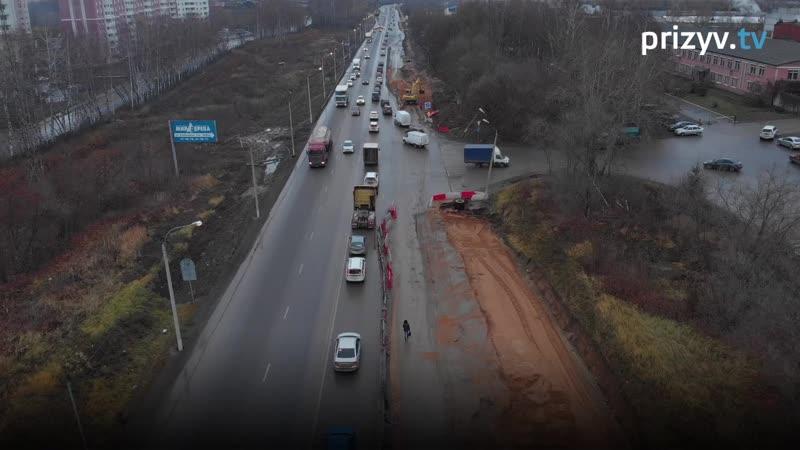 Пробки на Пекинке сместились
