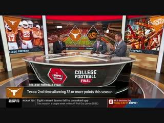 College Football Final / Week 09 / EN