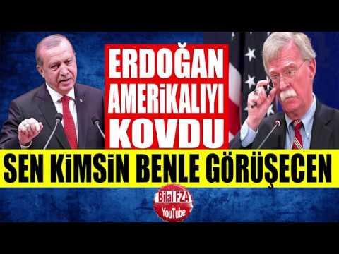 Erdoğan Kapıda Bekleyen Amerikalıyı Kabul Etmedi Abuk Sabuk Konuşan Boltona Randevu Yok