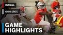 Highlights: Indiana Hoosiers vs. Ohio State Buckeyes | Big Ten Football